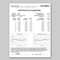 giấy chứng nhận hiệu chuẩn