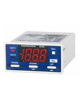 Đồng hồ đo chênh áp hiển thị số GC32 Nagano keiki