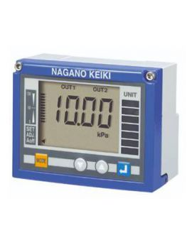 Đồng hồ đo chênh áp hiển thị số GC50 Nagano keiki