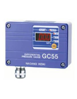 Đồng hồ đo chênh áp hiển thị số GC55 Nagano keiki