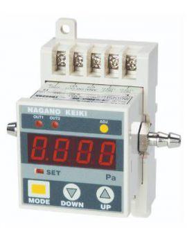 Đồng hồ đo chênh áp hiển thị số GC62 Nagano keiki