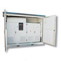 Nhà kim loại bảo vệ tủ biến tần trung tâm AEG Vietnam